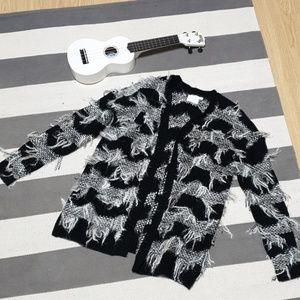 Luna B fuzzy sweater